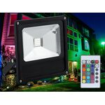 LED Flood Light RGB 50W with remote control