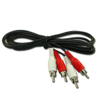 Audio Cable 2 RCA Males - 2 RCA Males 5m