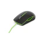 Usb Optical Mouse Platinet Black & Green PM0417CBG