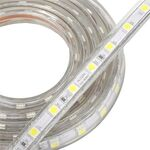 Waterproof Led strip 14,4W Warm White 230V