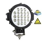 Vehicle Led Flood Light 63W 12V-24V DC Round
