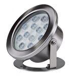 Φωτιστικό Πισίνας LED Ασημί 12W 4000K 98LED012SW