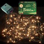 Χριστουγεννιάτικα Λαμπάκια Led Λευκά 220L με Πρόγραμμα