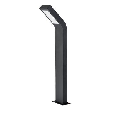 Φωτιστικό Κολωνάκι Δαπέδου LED Σκούρο Γκρί 10W 4000K 96LEDP20678
